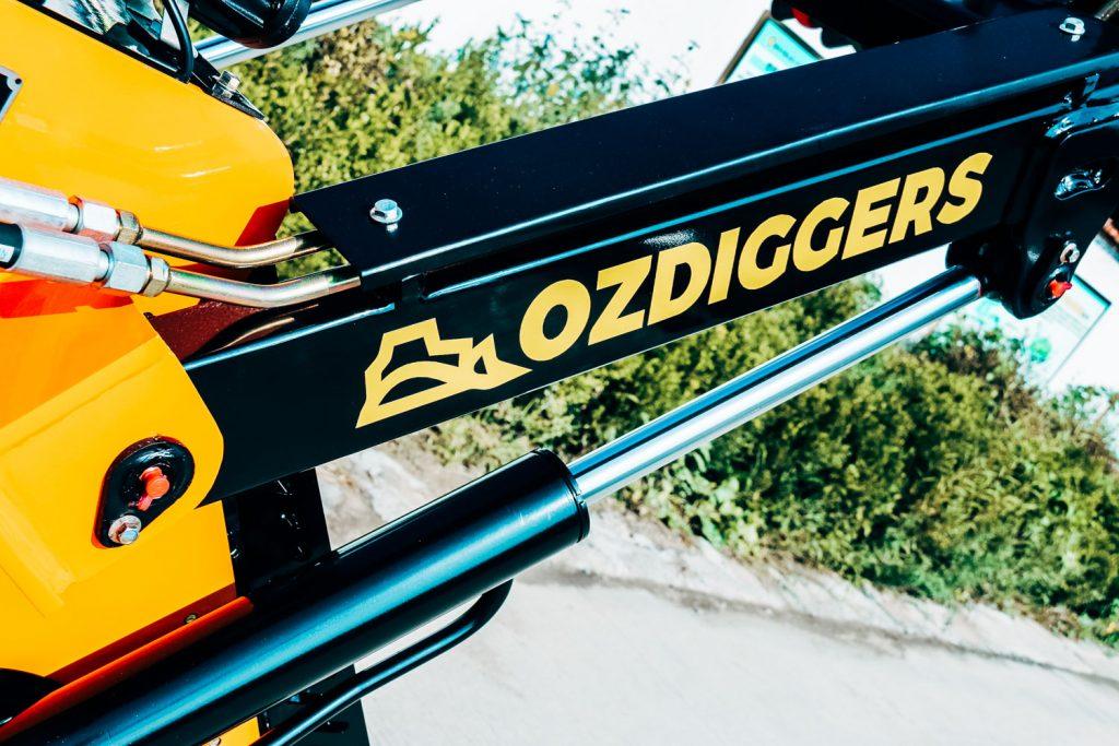 OzDiggers Mini Skid Steer Loader