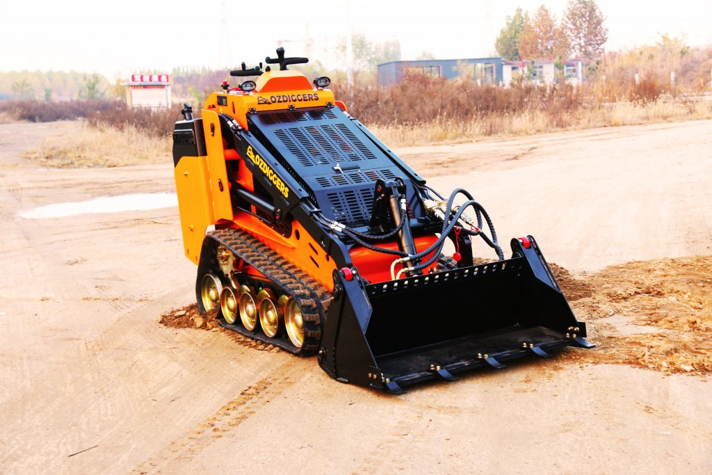 Oz Diggers Tracked Mini Skid Loader - Diesel