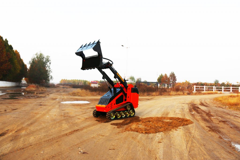 Oz Diggers Tracked Mini Skid Loader - Diesel