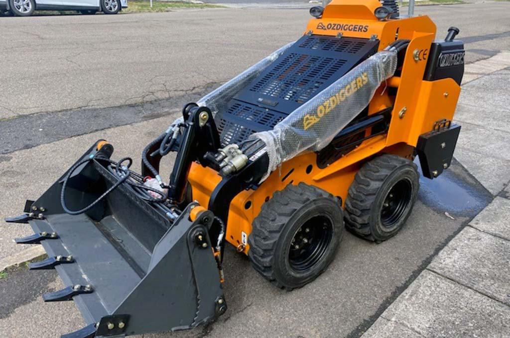 OD130W Mini Skid Loader diesel wheeled