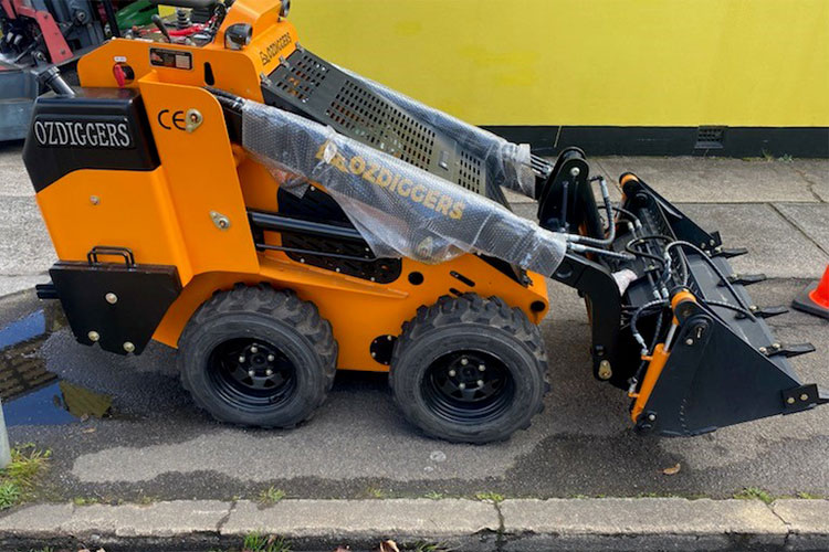 OD130w mini loader diesel wheeled